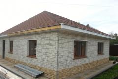 Отделка фасадными панелями FineBer Камень