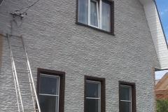Отделка фасадными панелями FineBer Скала
