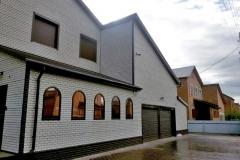 Отделка фасадными панелями FineBer Кирпич