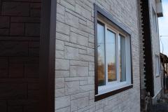 Отделка фасадными панелями FineBer Природный камень