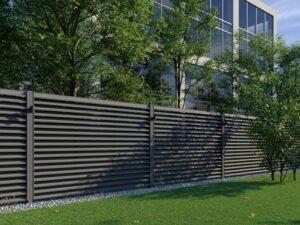 забор из евро жалюзей фото