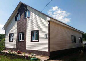 Блок хаус Docke фото дома
